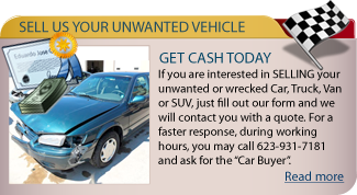 Sell Your Vehicle