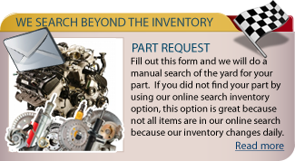 Send Us A Auto Part Request
