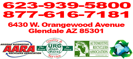 Glendale AZ Auto Parts | Used Recycled Car Body and Engine Parts